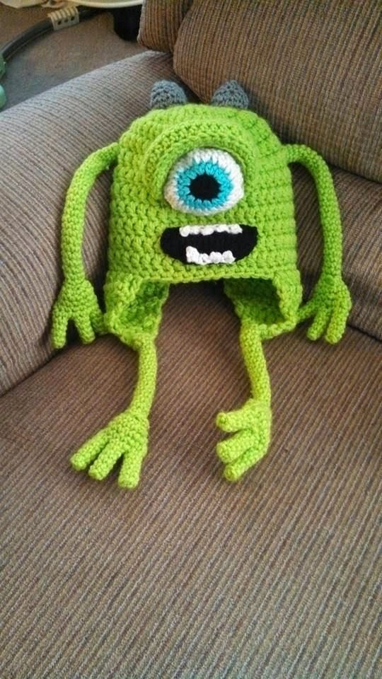 Manda Nicole's Crochet Patterns - Monster Mike