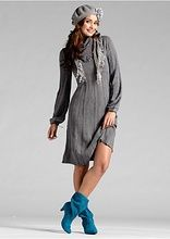 Sukienka dzianinowa Modna sukienka • 89.99 zł • bonprix