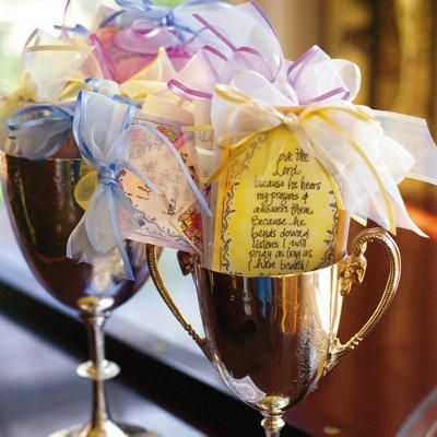 Thoughtful Favors - Spring Baby Shower - Southern Living