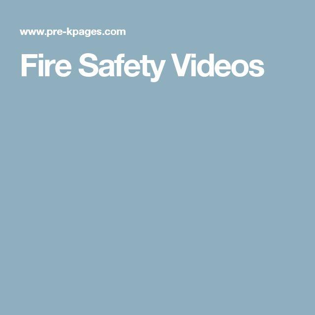 Fire Safety Videos