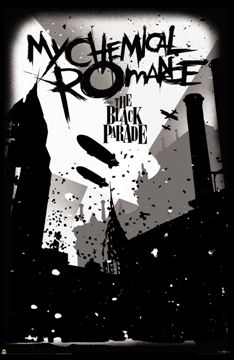 My Chemical Romance - Blimps Black Parade Poster
