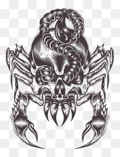 All Free Vector: Scorpion tattoo art