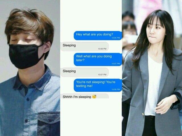 Shhh im sleeping. Kai and Krystal #kaistal #jongin #soojung #exo #f(x) cr: megan