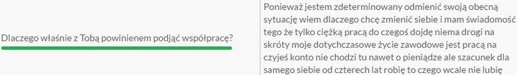 📢 👍Uwielbiam czytać takie odpowiedzi⁉️☑️ Życzę każdemu takich osób do współpracy👍  📈Wskakuj http://arturwiktor.eu/chce-poznać-szczegóły