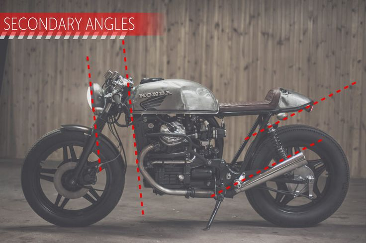 Bone lines, swoops and cut-off points: a pro designer reveals the tricks that lift a cafe racer motorcycle build from good to great.