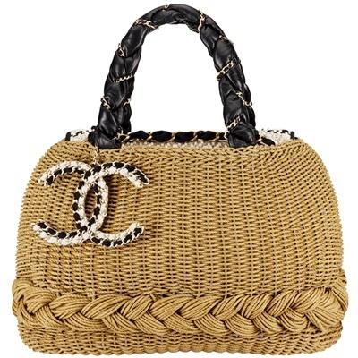 Chanel, adorable beach purse!