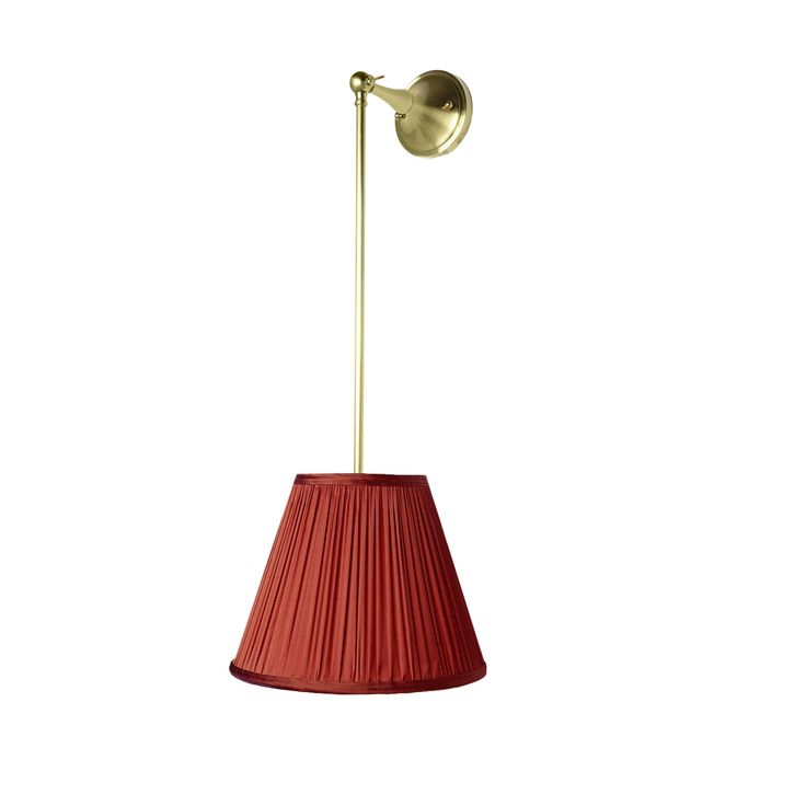 Pendulum Light  Contemporary, Traditional, MidCentury  Modern, Art Deco, Metal, Upholstery  Fabric, Sconce by Oliver Street Designs