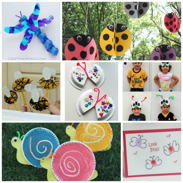 1000 images about bug crafts on pinterest cute art for Bugs arts and crafts