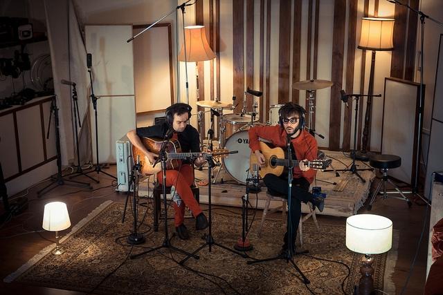 Lightship95 Recording Studio. Antílopez grabando en Londres. Photo by jaimeroldan, via Flickr.  Más info:  http://www.antilopez.es  http://www.cancionesenbuscadeartistas.com  http://www.jaimeroldan.com