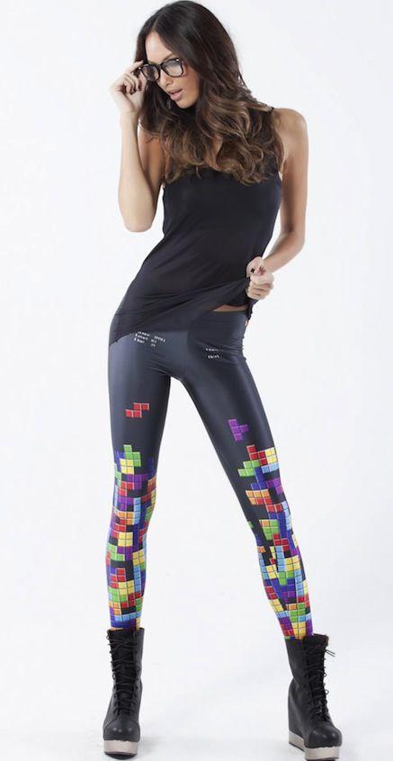 Tetris leggins