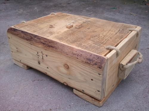 DIY Wooden Boxes From Recycle Pallets