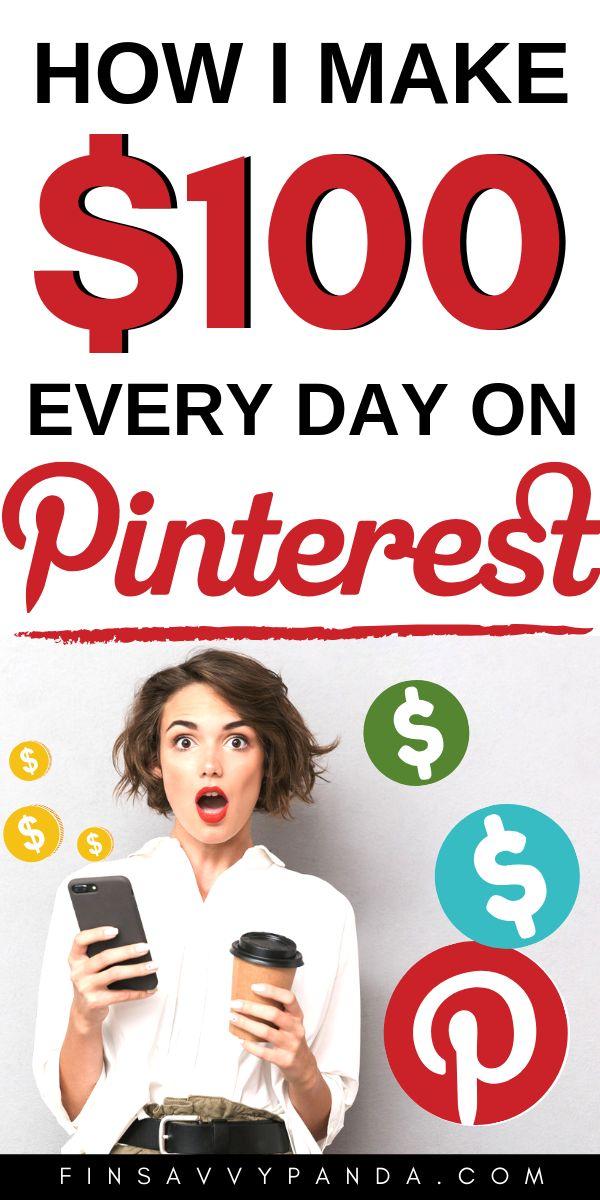 Möchten Sie mit Pinterest online Geld verdienen? JA, es ist möglich, Geld zu verdienen …   – Earn from home. Earn Online.