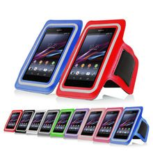 New arrival high quality multicolor sports running jogging gym arm band cool cover case For Sony Xperia Z2 Z3 L55 C770x L50W