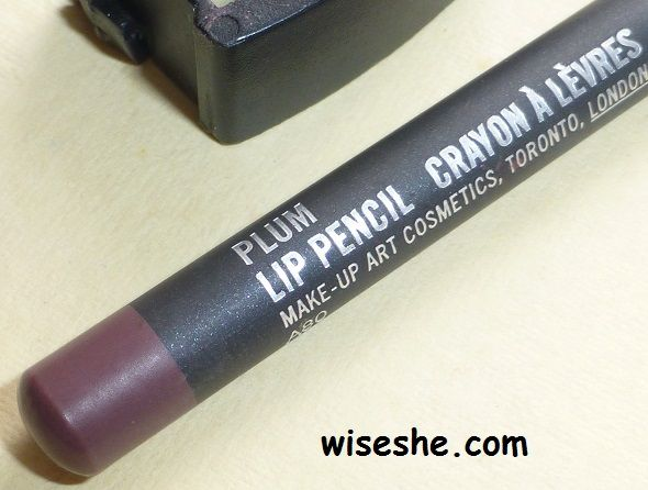 MAC Plum Lip Liner Review and Swatches