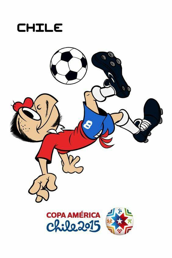 Chile - 2015 Copa America poster.