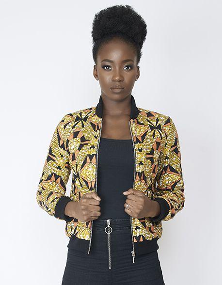 Bombers femme stylé en wax par Lena-dreams pour Afrikrea. https://www.afrikrea.com/article/bombers-femme-wax-zip-argentee-imprime-diamond-lenadreams-vestes-et-manteaux-vert-pour-elle-wax/9BDF8XA?utm_content=bufferd0f16&utm_medium=social&utm_source=pinterest.com&utm_campaign=buffer