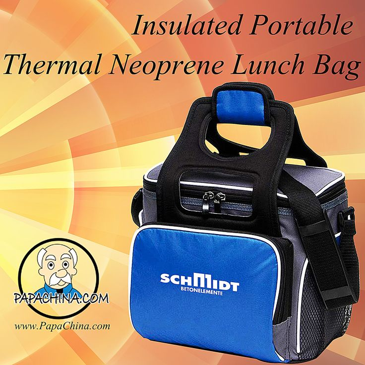 Leaving a lasting message is perfect for the Insulated Portable Thermal Neoprene Lunch Bag. Able to be used for can carry food, it is sure to be used often by the prospects and clients which means your message will be heard and seen everything they use this item.
