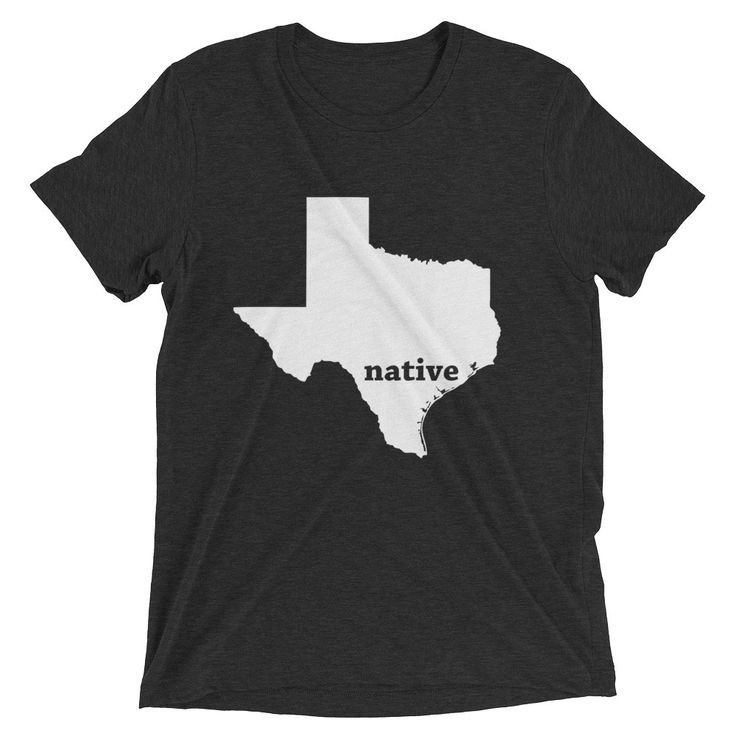 Now available in our store: Native Texas T-Shirt Check it out here! http://shop.mapprints.co/products/native-texas-t-shirt?utm_campaign=social_autopilot&utm_source=pin&utm_medium=pin