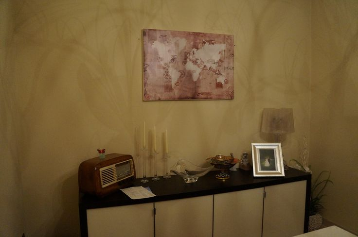 Vintage Stamp Map - Interior | Picture from our friends!