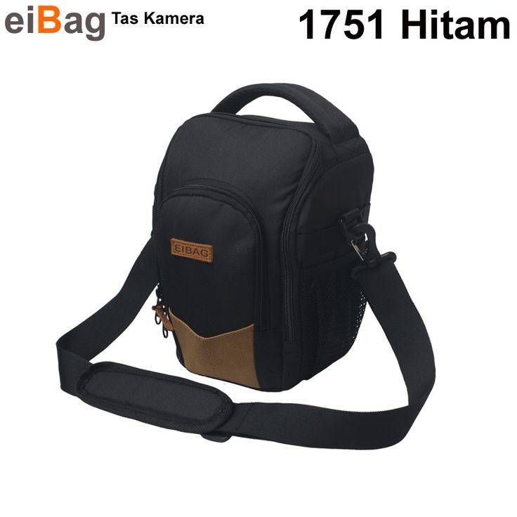 Tas Kamera DSLR Model Toploading Kode EIBAG 1751 Hitam Harga Murah