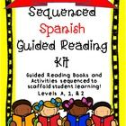 Lectura Guiada! Free Spanish Guided Reading Book w/Matchin