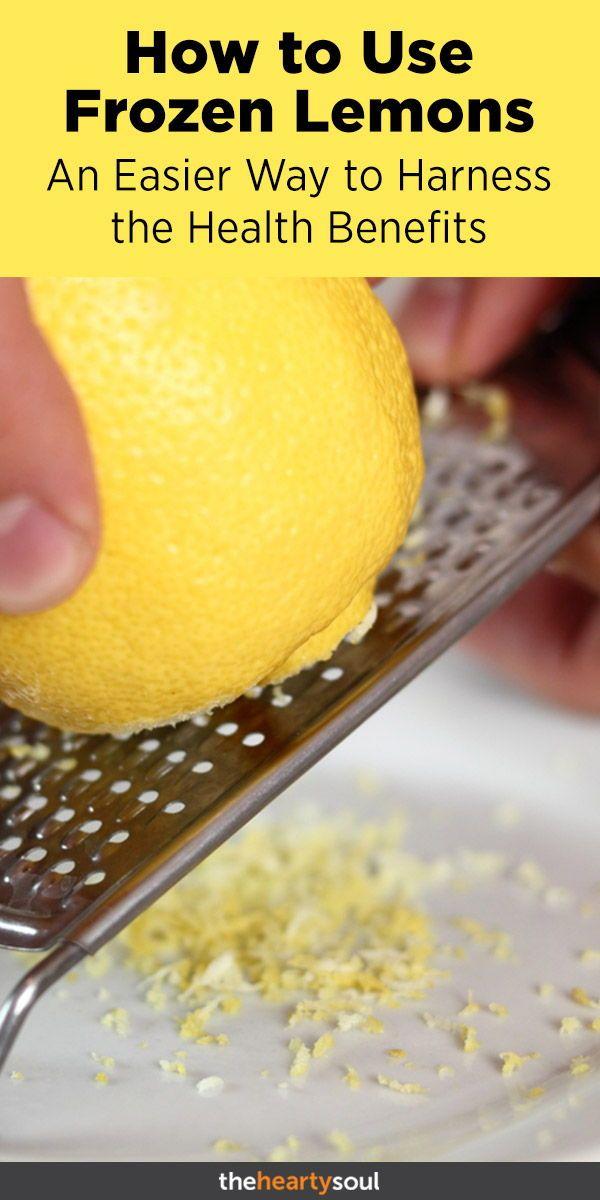 Use Frozen Lemons for Fresh Breath, Stronger Immunity, Weight Loss