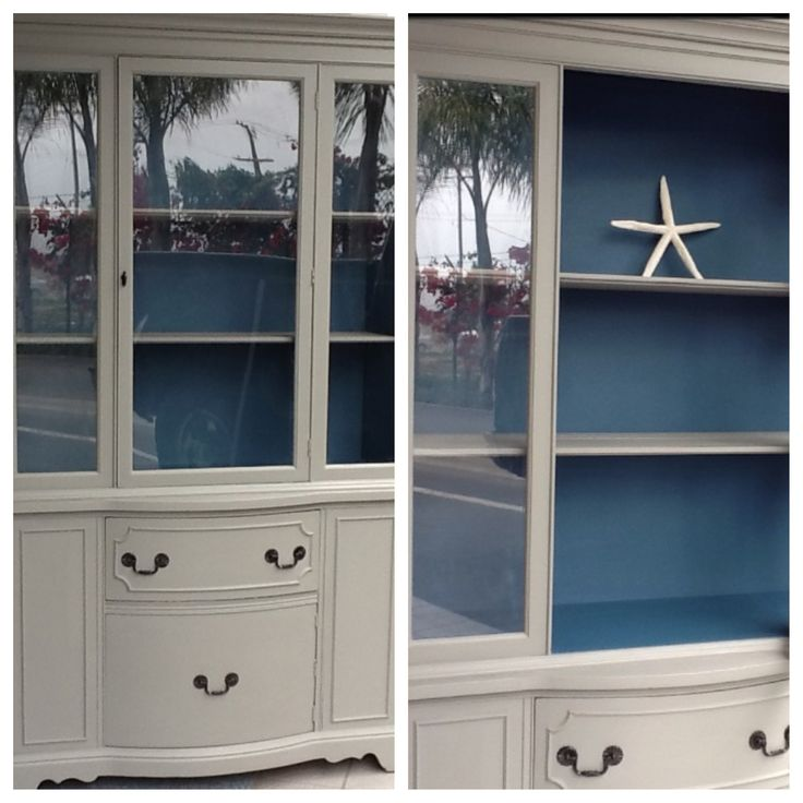 Annie Sloan Chalk Paint~ French Linen And Abbusson Blue