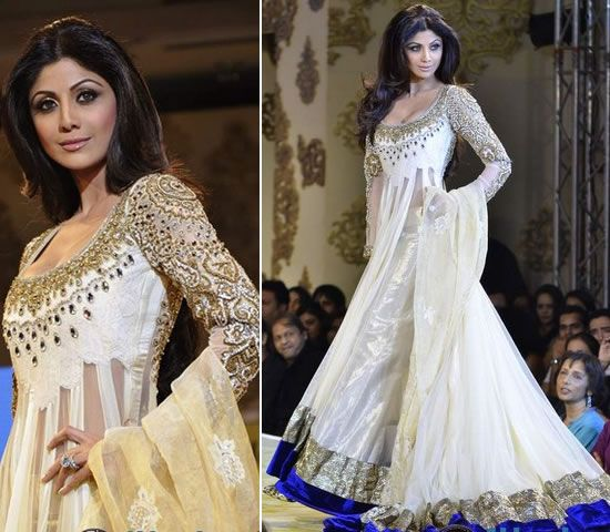I've admired this dress for a while in the past, which is a design by Manish Malhotra at the Mijwan Fashion Show back in 2011, which was wor...