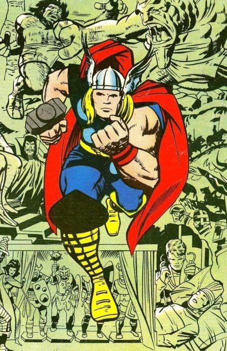 Thor by Jack Kirby il mio preferito!                                                                                                                                                                                 More