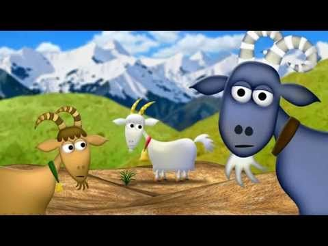 The 3 Billy Goats Gruff - KidsOut Charity Animation by Neil Whitman - YouTube
