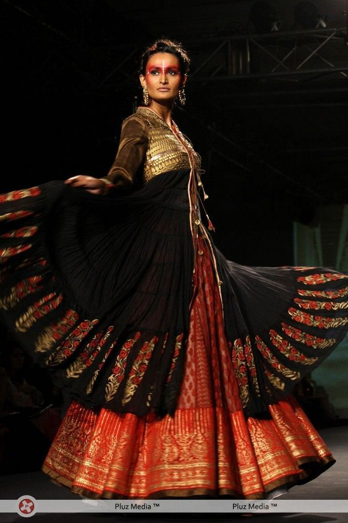 at the Delhi Couture Week 2012