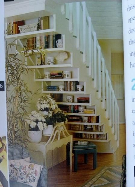 Ideas for Space Under Stairs. Shelves ...
