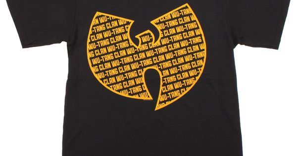 Wu Tang Clan Repeat Logo Mens T-Shirt #music