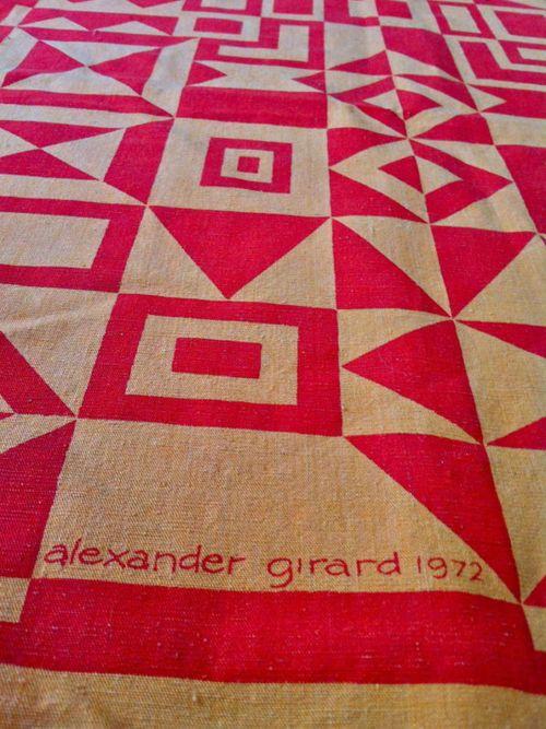 Vintage Original Alexander Girard for Herman Miller Textile Wall Hanging. Item number: 290670916759