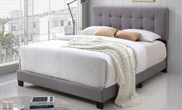 Bedroom Furniture Groupon Upholstered Panel Bed Furniture Panel Bed