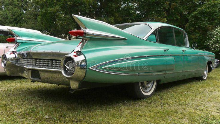 Cadillac Vintage American Classic Car. Luxury car – Cadillac De Ville Fleetwood …