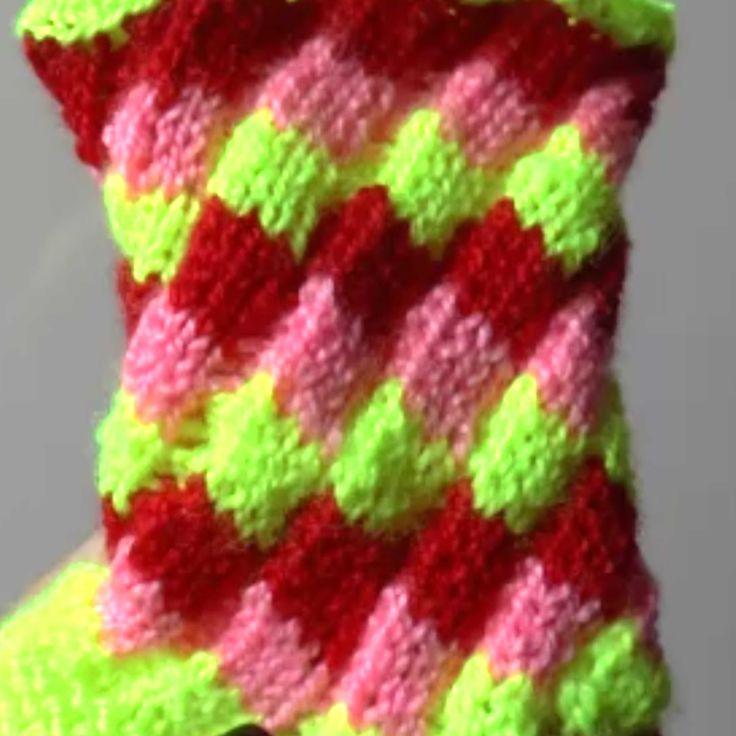 Эстонская спираль (Estonian helix knitting)
