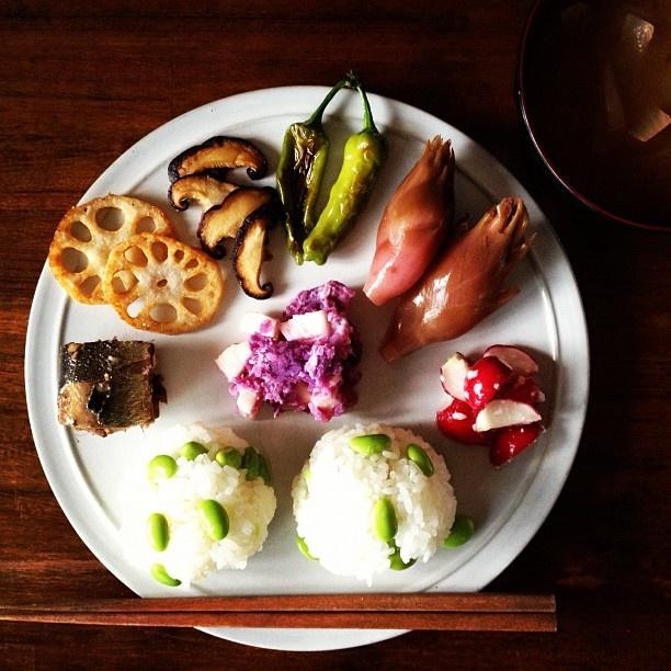 Japanese breakfast. - @keiyamazaki- #webstagram