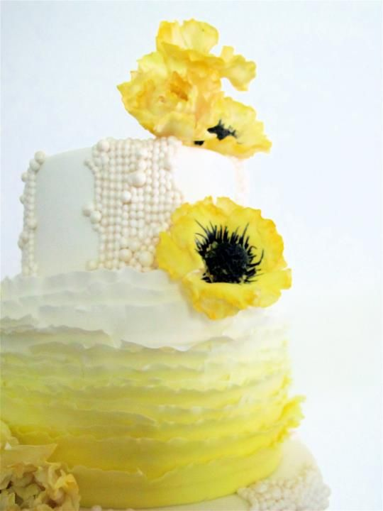 yum and sugar yellow anemones: Double dark chocolate cake with pear ...