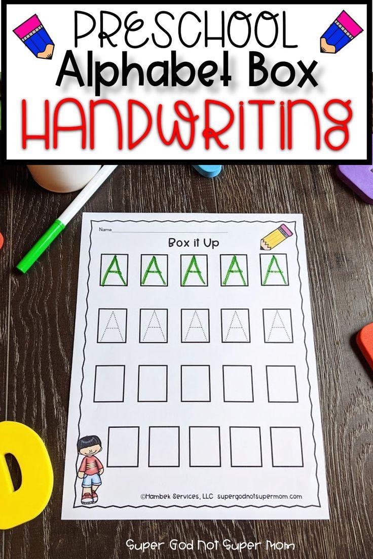 Alphabet Handwriting Worksheets Super God Not Super Mom Preschool Learning Alphabet Preschool Alphabet Activities Preschool [ 1104 x 736 Pixel ]