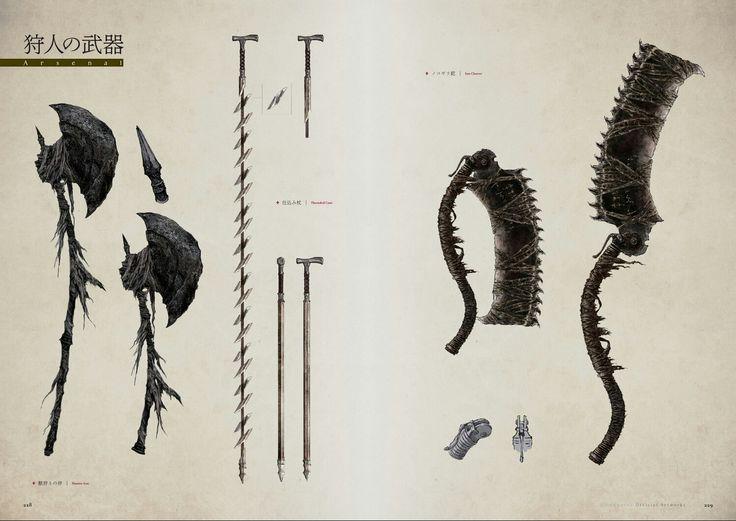 bloodborne concept art book pdf