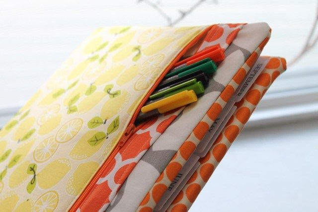 Learn How to Sew A Three Ring Binder Cover with Zippered Pocket - A Free Video Tutorial from Sewspire