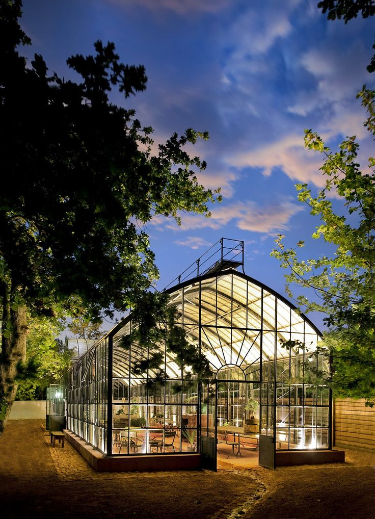 The awesome Glass House at #Babylonstoren