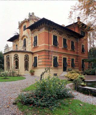 Terre di Lucca e di Versilia | Art nouveau villas in Italy