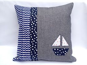 This isa new cushion in a series of applique cushion's I've been working on. This one has been made specifically for a facebook showcas...