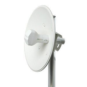 NanoBridge M5 Cost-Effective 5GHz 22dbi MIMO by Ubiquiti. $89.99. Patent Pending InnerFeed Antenna TechnologyProvides breakthrough MIMO antenna cost/performance. Higher Antenna Gain and even more cost-effective.Compact and Robust Product DesignVery small visible footpint. Mechanical design provides complete weatherproof performance. Acitivity and signal strength LED's provided for installers. Enhanced RF and Ethernet ESD/Surge protection enables prolonged opera...