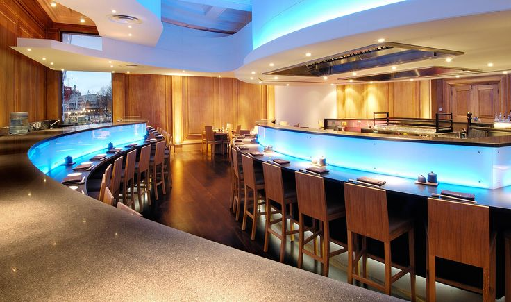Commercial - Ozu Sushi Bar - TinTab - Contemporary, bespoke, design & manufacturing in Newhaven, East Sussex