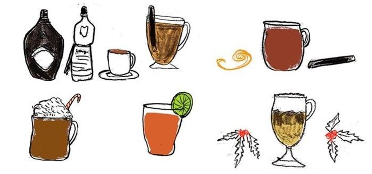 8 Hot Holiday Alcoholic Drink Recipes to Warm Your Spirit