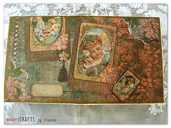 Ξύλινη vintage κοσμηματοθήκη | Woody's Crafts by Ifigeneia
