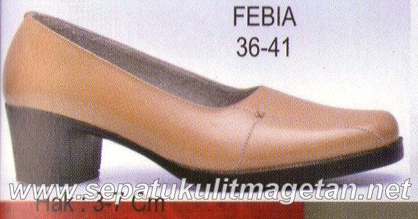 Sepatu Kulit Asli Wanita CJ Febia